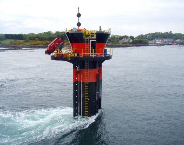 Подводный ветрогенератор (10 фото)