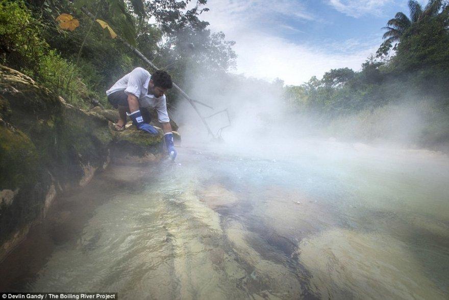 Река, в которой можно свариться заживо