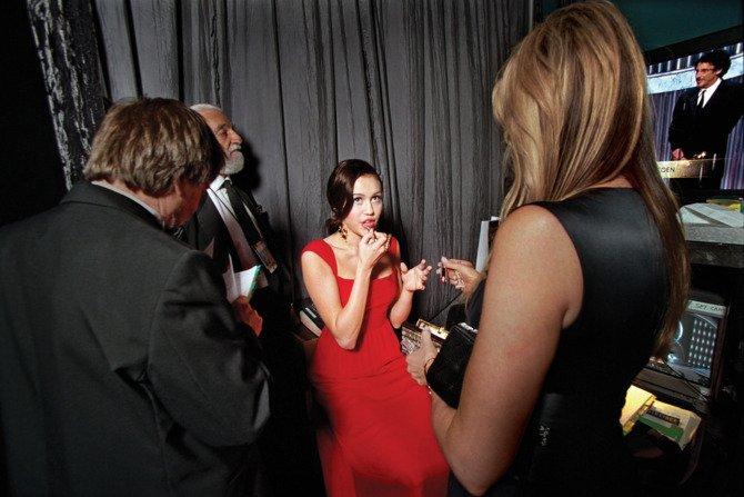 """За кулисами церемонии """"Оскар"""": лучшие фотографии прошлых лет"""