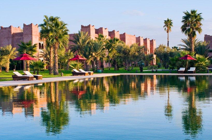 Потрясающий отель Sahara Palace в Марракеше