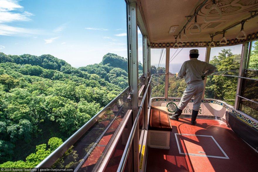 Обзорная канатная дорога Нихондайра
