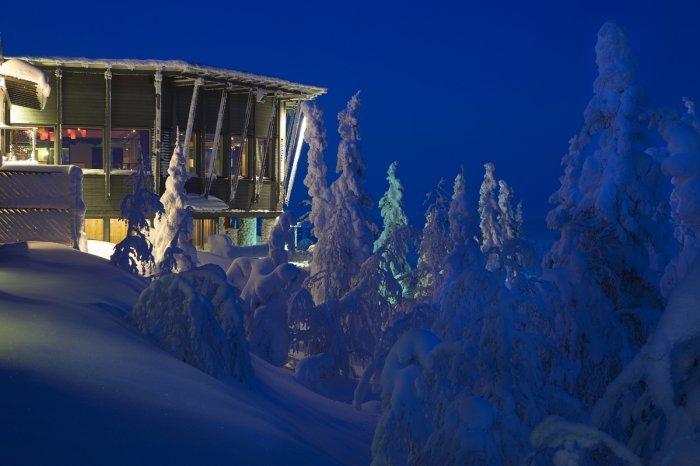 Финский люкс-отель «Eagle View Suite»
