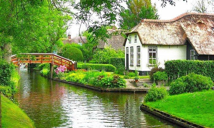 Деревня Гитхорн — настоящий рай на Земле