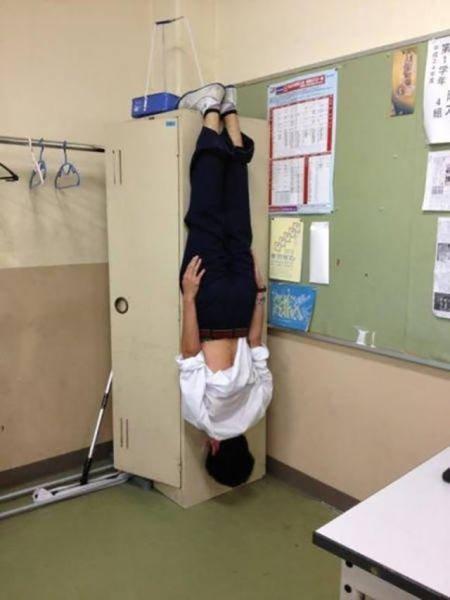 Смешные японские фотографии (38 фото)