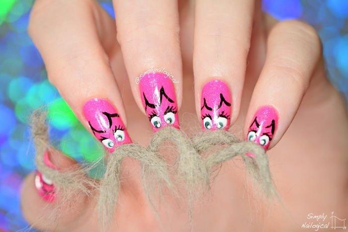 Новый безумный тренд, захвативший мир моды – пушистые ногти