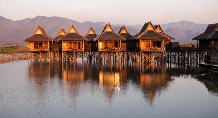 «Плавающие» дома для спокойствия и умиротворения