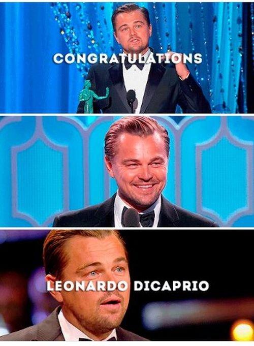 Леонардо Ди Каприо, наконец-то, получил «Оскар»