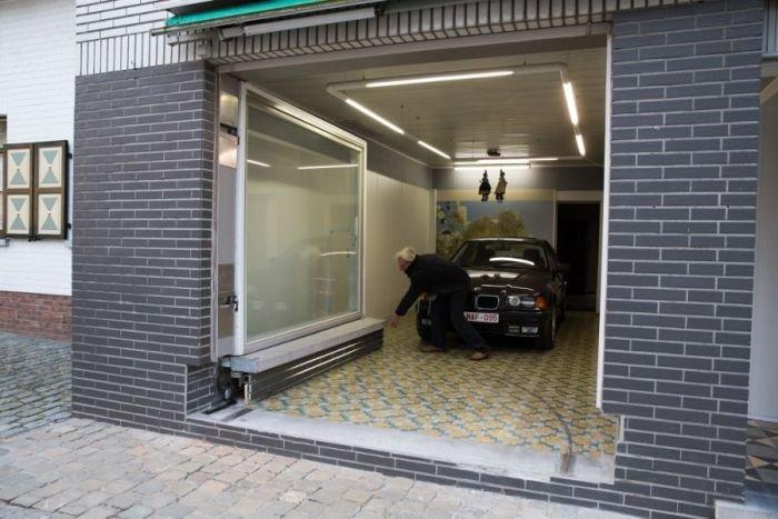 Необычный гараж (13 фото)