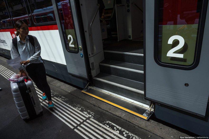 Железные дороги в Швейцарии