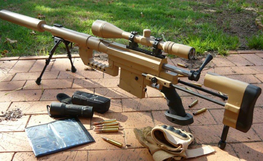 Коллекция мощных винтовок