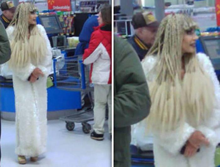 Подборка смешных людей из супермаркетов (55 фото)