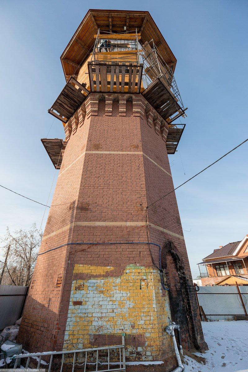 Башня Лунева в Томске