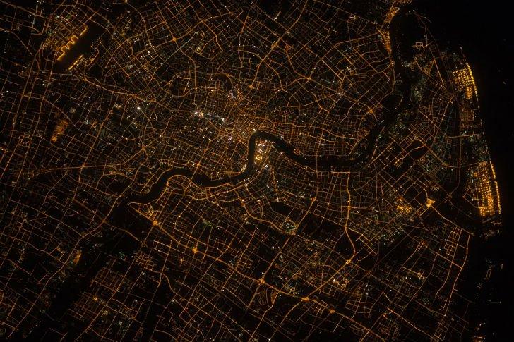 Земля из космоса от астронавта НАСА
