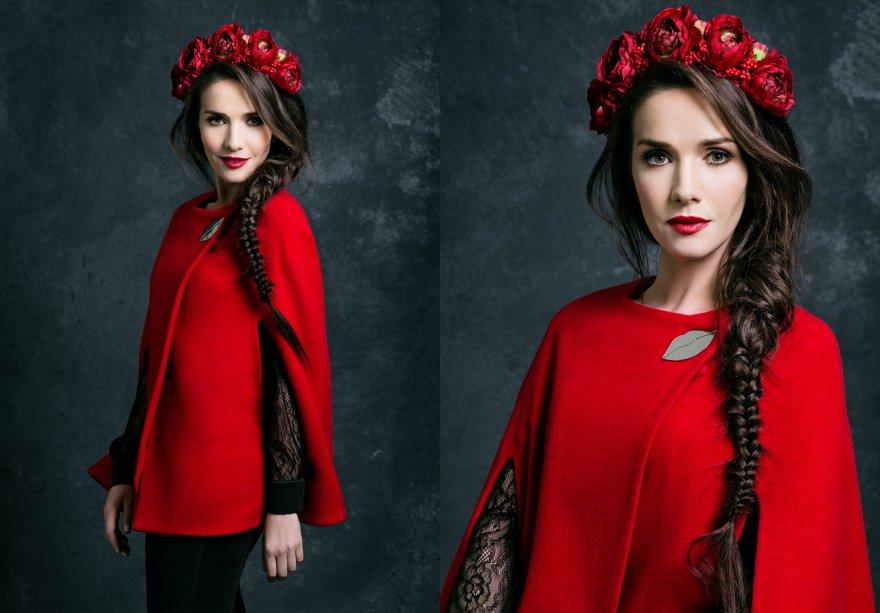 Звезда сериала «Дикий ангел» Наталья Орейро выпустила коллекцию одежды, посвященную России