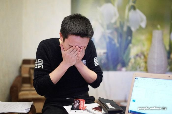 Китаец, связавшийся с белорусскими бизнесменами, потерял 300 000 долларов (15 фото)