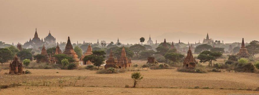 Живописный Баган — главная достопримечательность Мьянмы