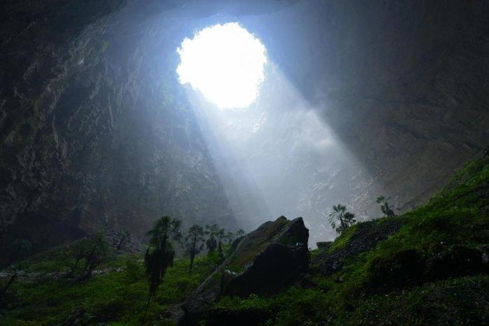 Изолированная экосистема, обнаруженная в Китае (9 фото)