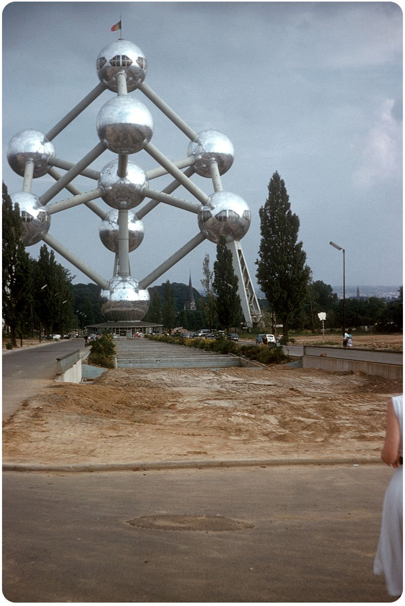 1958. Всемирная выставка в Брюсселе