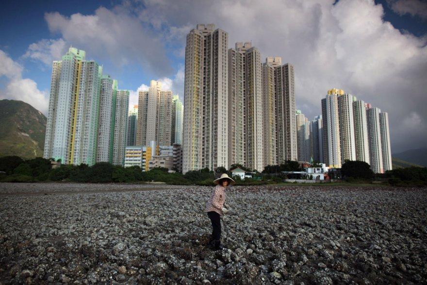 Потрясающие городские пейзажи Гонконга