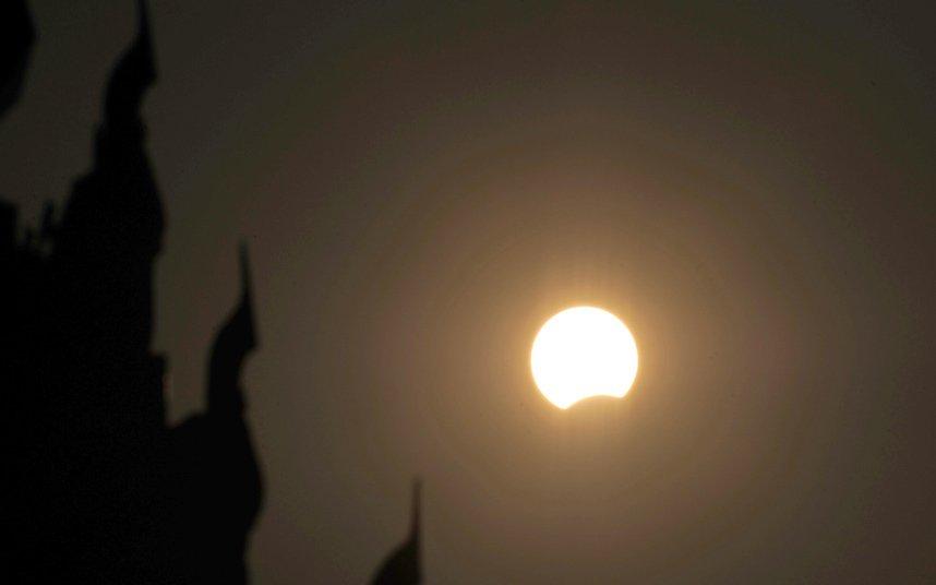 Cолнечное затмение в Юго-Восточной Азии