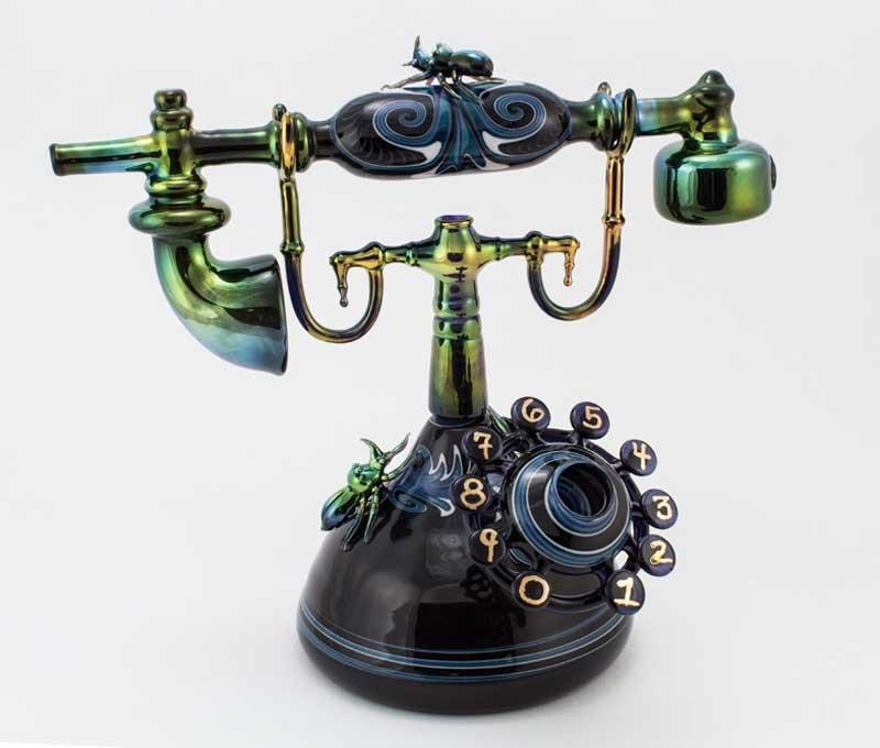 Удивительные работы художника-стеклодува Robert Mickelsen