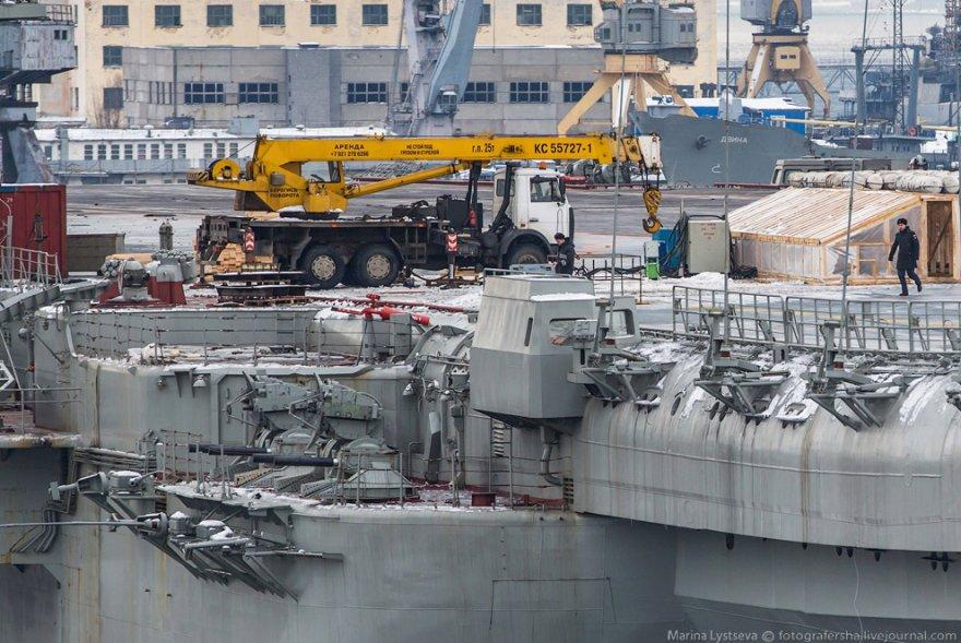 Авианесущий крейсер «Адмирал Кузнецов»