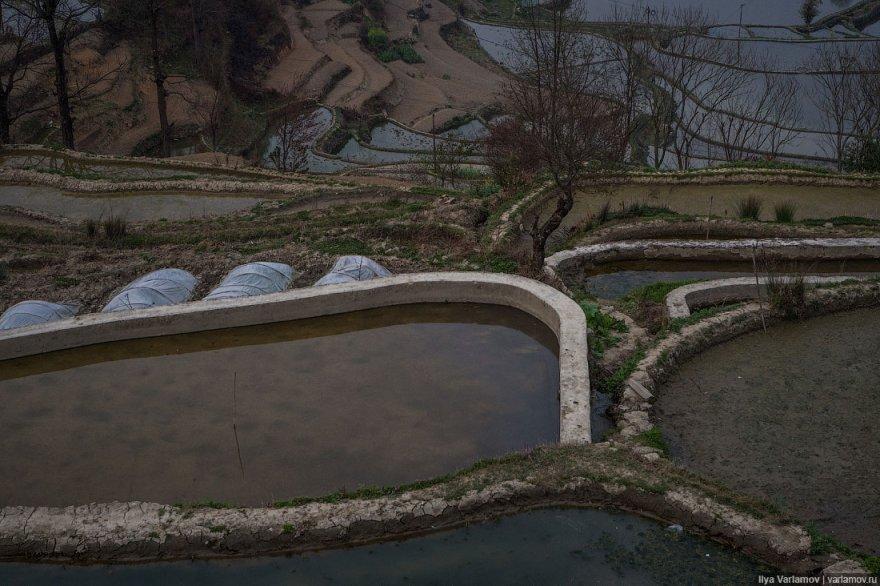 Гламурный отель и дорога на террасы в Куньмине
