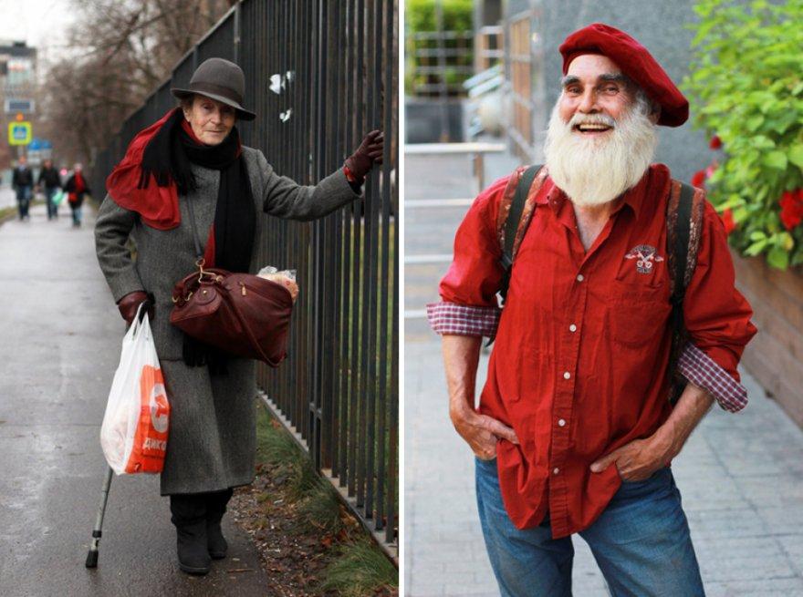 Мода: Русские пенсионеры спешат на подиум