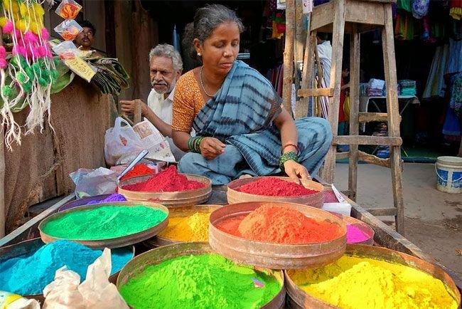 Ранголи – индийское народное искусство