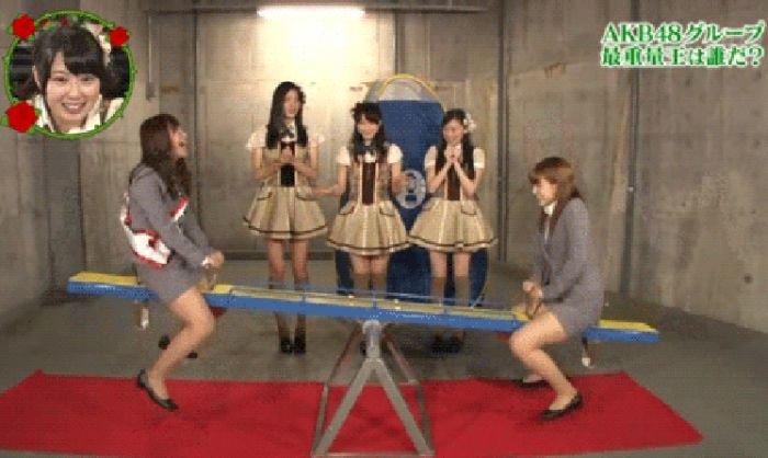 Странные японские телешоу (14 гифок)