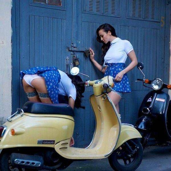 Смешные девушки (64 фото)