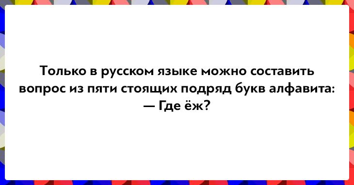 Десять фраз, доказывающих, что русский язык — язык парадоксов!