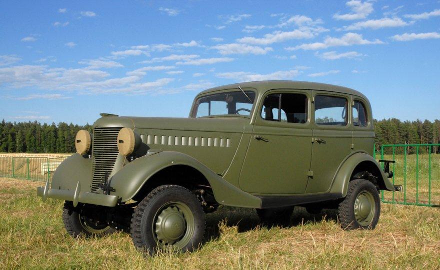 Джипы Второй мировой войны
