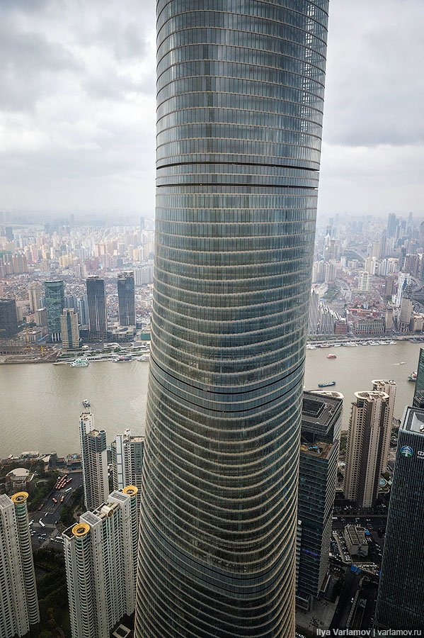 Шанхайская башня – cамый красивый в мире небоскреб