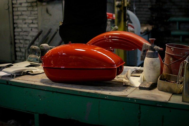 Сборочный цех мотоциклов «Урал»