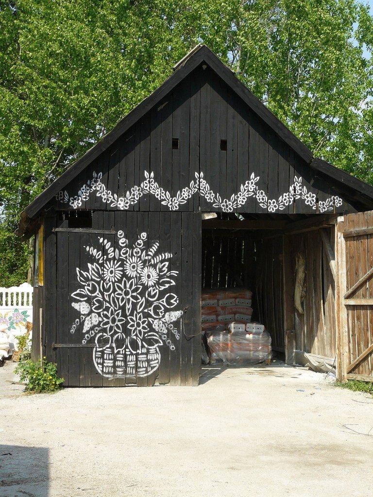 Красивая польская деревня