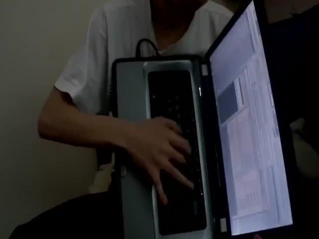 Ноутбук вместо аккордеона