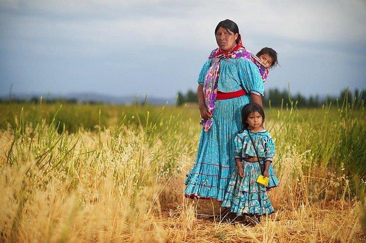 Традиционные убранства мексиканского индейского народа сатотеки