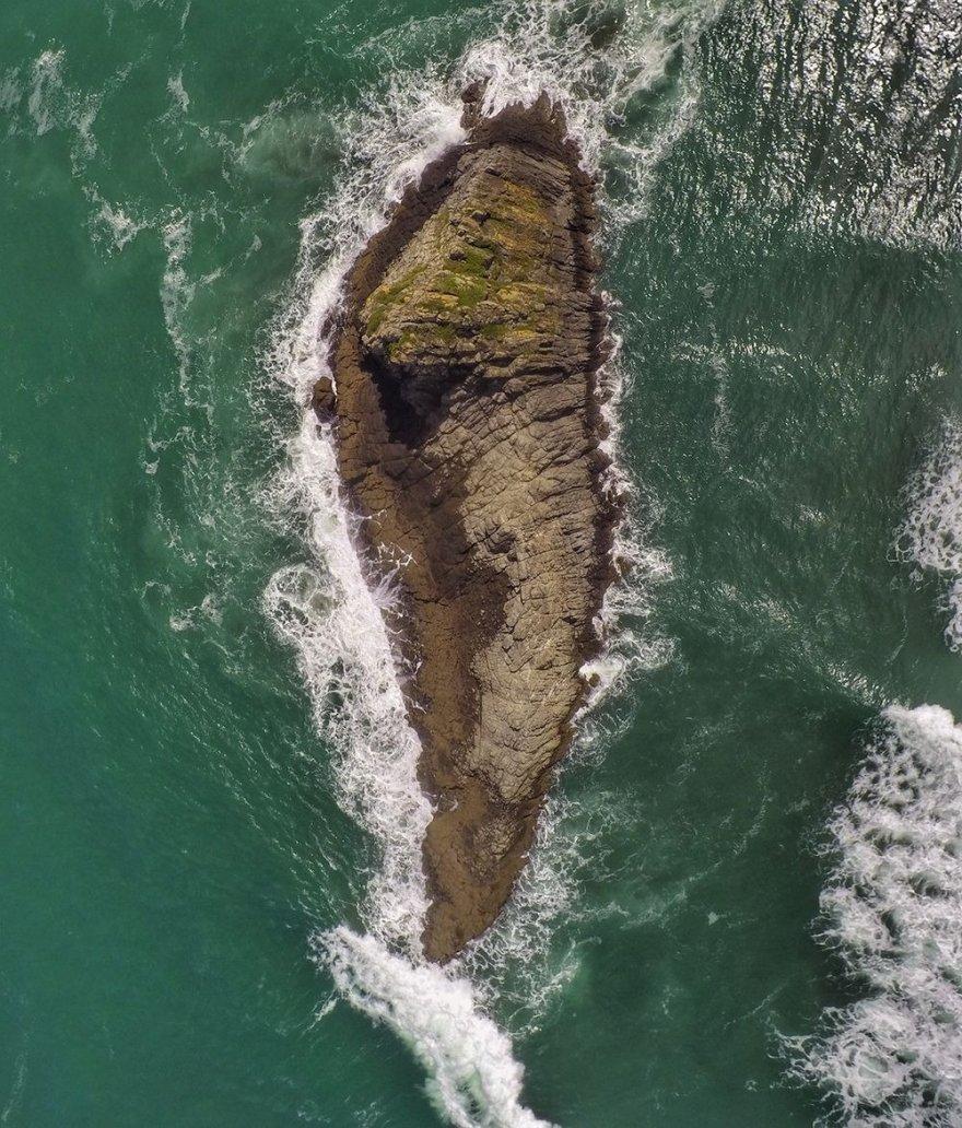 Новая Зеландия с высоты птичьего полета