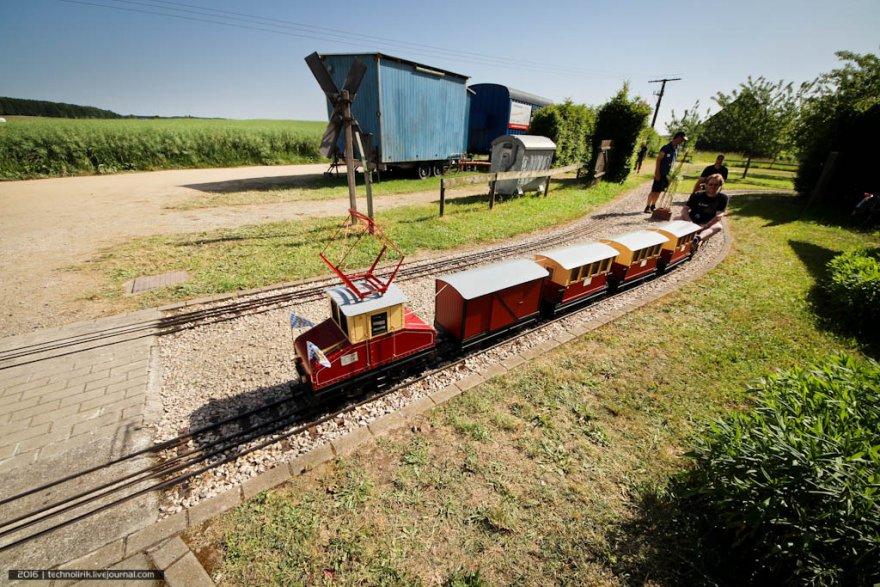 Cамая маленькая железная дорога в мире