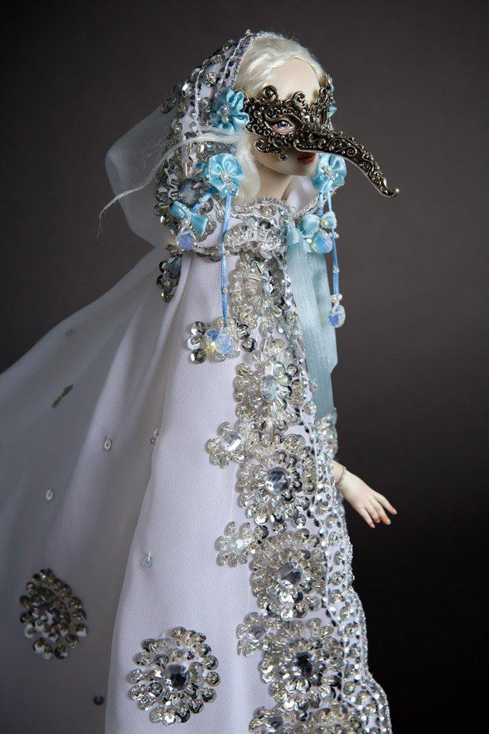 Необыкновенные фарфоровые куклы ручной работы