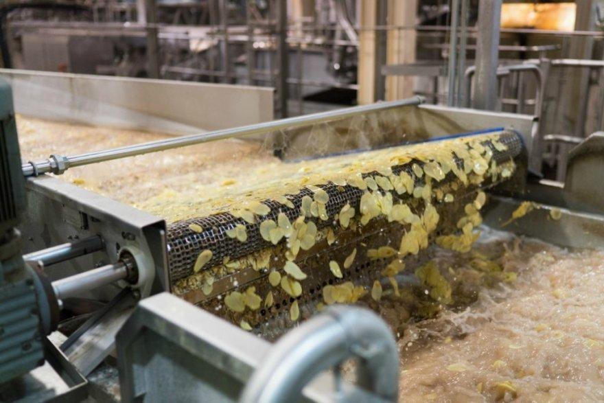 Процесс изготовления чипсов