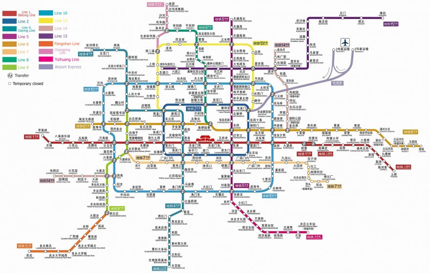 15 сложных схем метрополитена