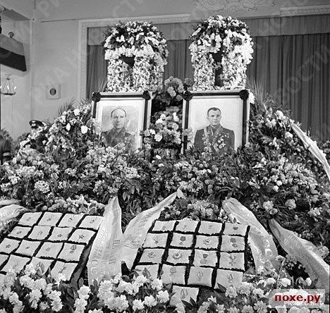 27 марта 1968 года погиб первый космонавт планеты, Юрий Алексеевич Гагарин
