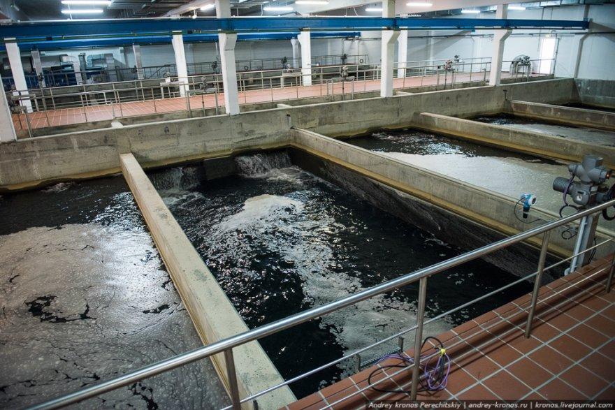 Как происходит очищение воды для наших кранов