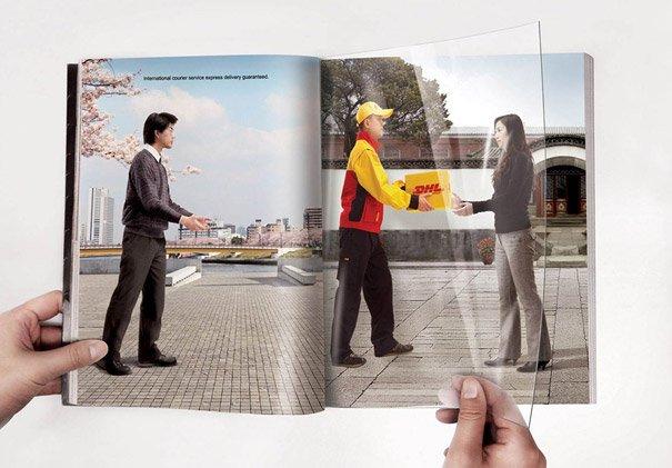 Подборка креативной рекламы в журналах