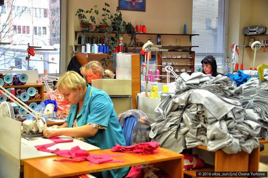 Процесс изготовления спортивной одежды