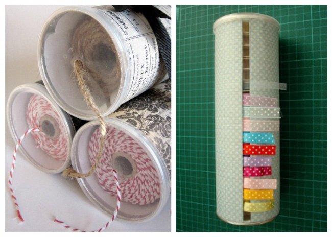 10 полезных вещей, которые легко смастерить из цилиндрической упаковки из-под чипсов