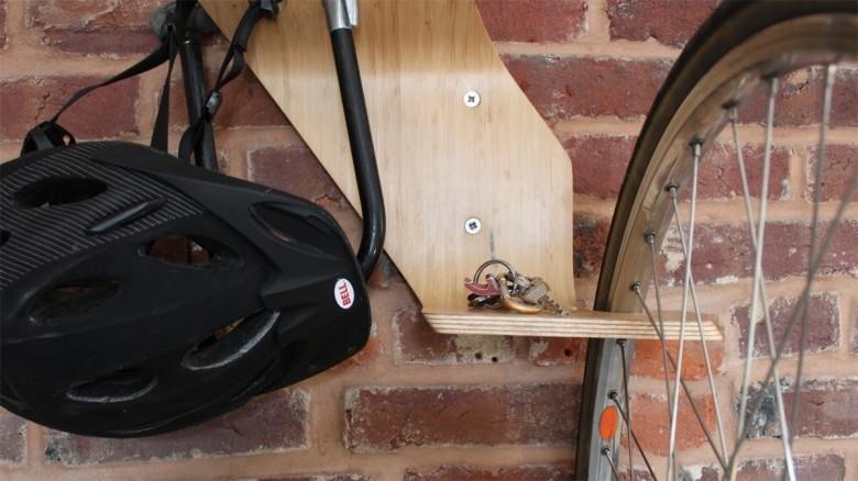 Варианты хранения велосипеда дома