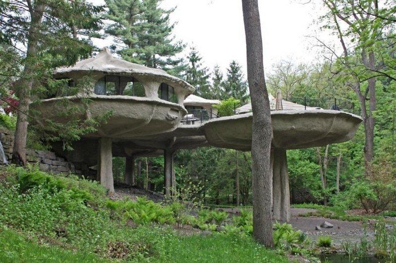 Удивительный дом-гриб